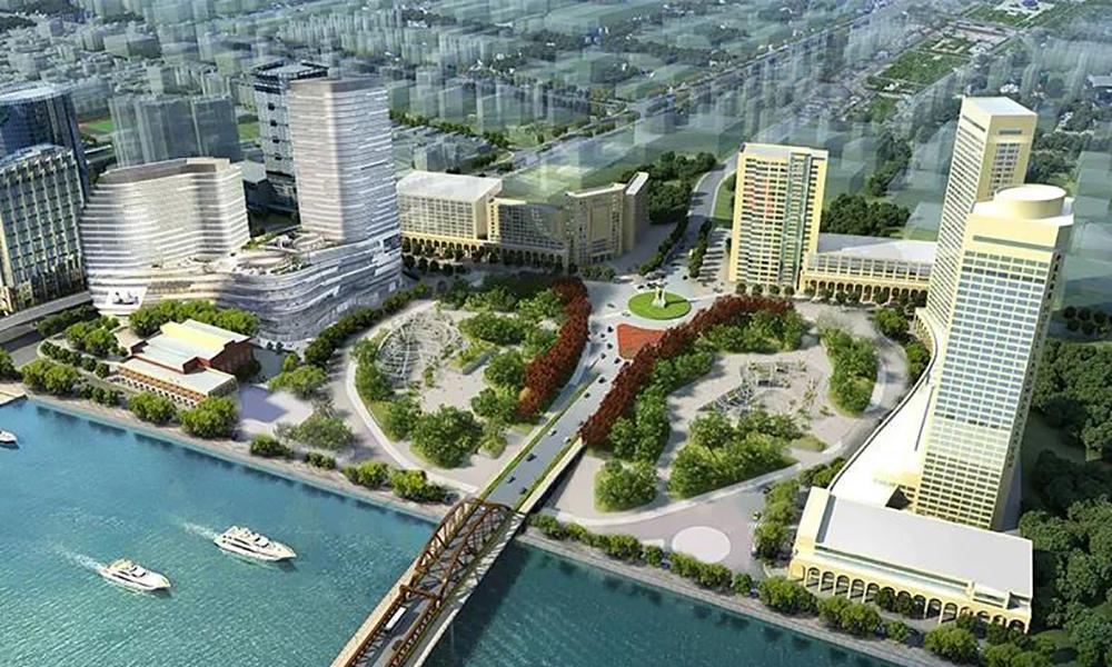兴发铝业为星寰国际商业中心添外衣,筑就广州新地标