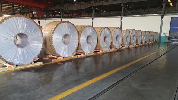 洛阳龙鼎铝业   铝加工事业部销售发货量首次超过序时计划