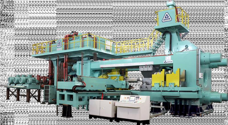 5500吨短行程挤压机