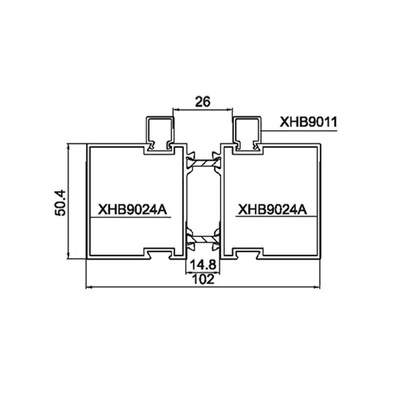 隔热管类铝合金型材系列