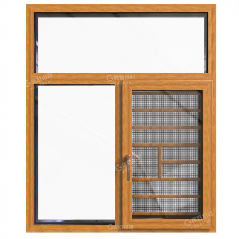 GP85K系列隔热外开窗纱一体窗