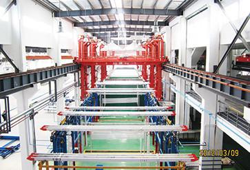 铝型材氧化//电泳智能化自动生产线