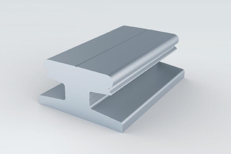 轨道铝型材部件