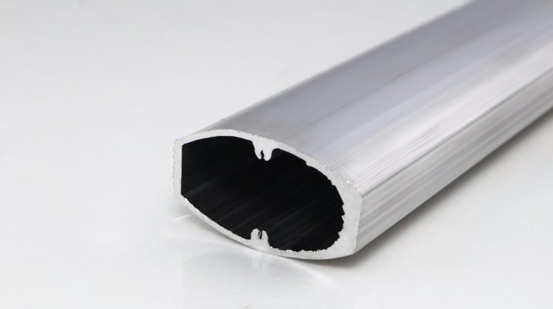 工业铝材(椭圆带槽)-异型材