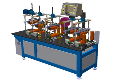 型材自动贴膜机