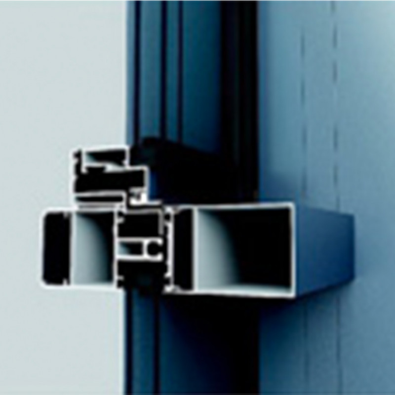 WMQ120、150、200系列明框、隐框幕墙(60,70,100宽)