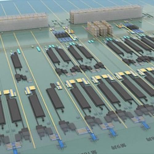 铝行业智能数字化工厂(模具库、理货库、素材库、成品库、场内物流、WMS仓储管理系统、WCS生产执行系统)
