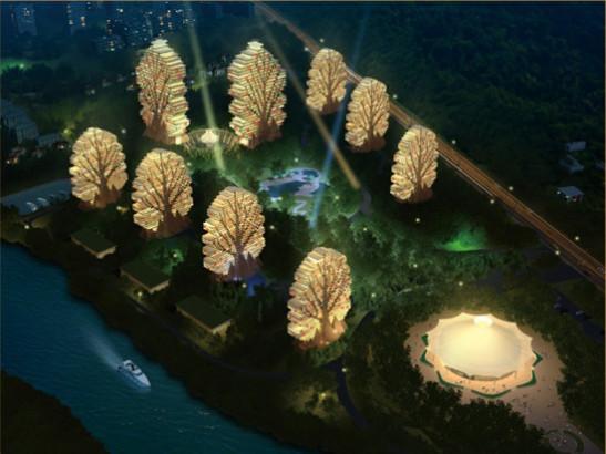 前沿推荐 | 海南三亚七星酒店美丽之冠,创新铝单板幕墙应用!