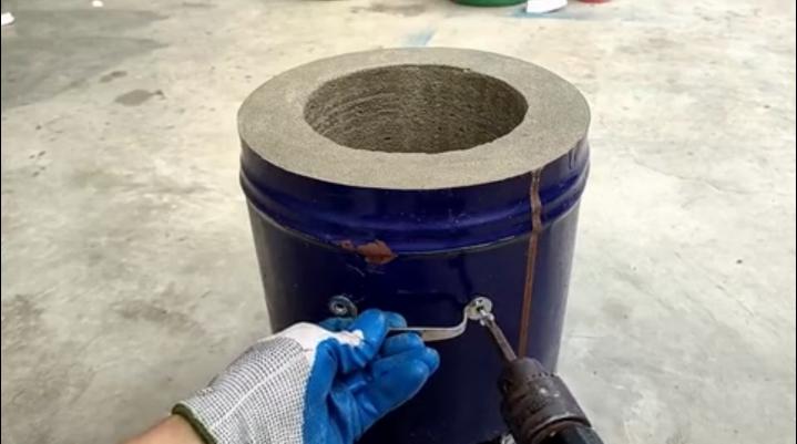 视界 | 旧铁桶不要扔,教你在1000摄氏度熔炉改造,不比买的差