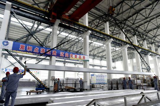 山东裕航特合金装备有限公司工在装铝合金型材