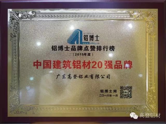 2019年度铝材品牌排行_尚进门窗,中国门窗十大品牌评选排名第十九