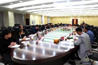 山东省部分重点铝挤压材生产企业负责人座谈会成功召开