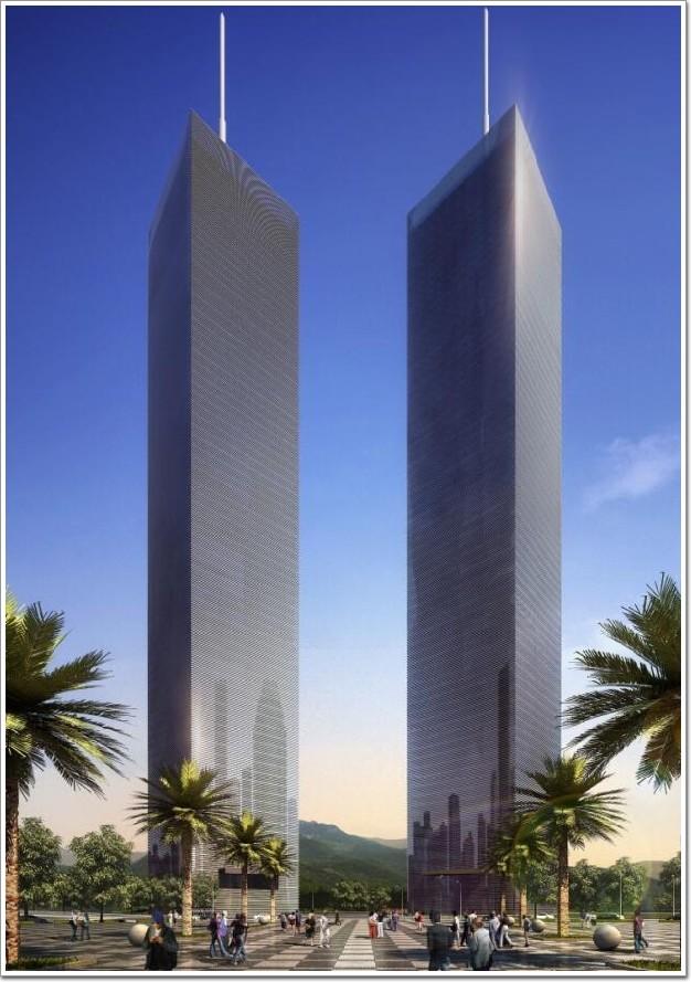 """335米贵阳第一高楼,简约到极致的""""全玻幕墙""""建筑"""