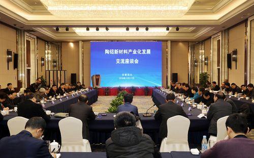 中国商飞、中铝集团、上海交大考察团来淮共谋陶铝新材料产业化发展