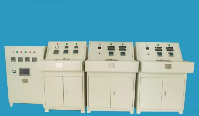 2100T-13000T铜、铝挤压筒二区智能控温柜